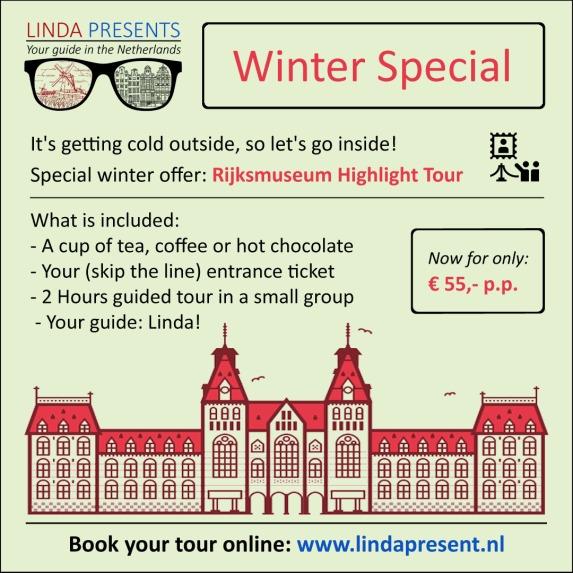 Linda Presents winter special: Rijksmuseum Highlight Tour